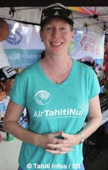 Lara Collins, la présidente de la FIV