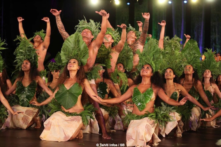 O Tahiti E, un groupe qui fut le grand gagnant du Heiva en 2012.