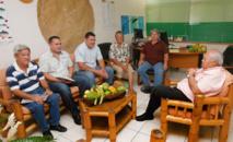 Valorisation du uru : Frédéric Riveta rencontre une délégation du service de l'agriculture de Wallis et Futuna