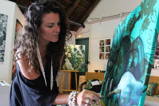 Tania Wursig, l'Australienne amoureuse de Tahiti