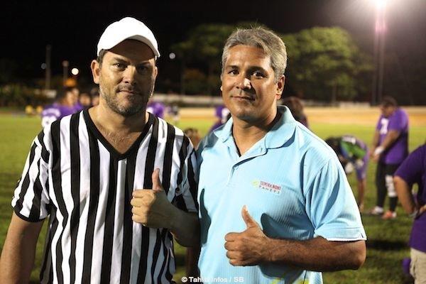 François et Johann, les deux artisans de l'expansion du Foot Us à Tahiti