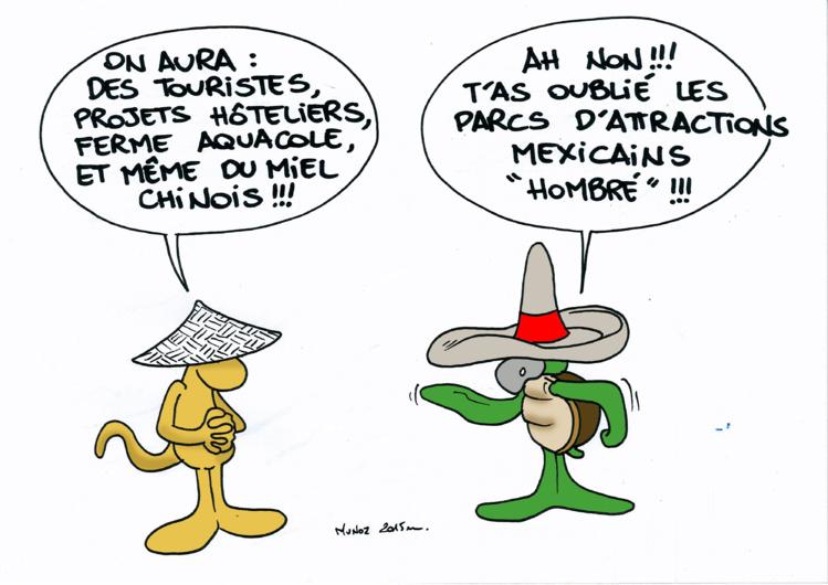 """""""Les investisseurs étrangers """" selon Munoz"""