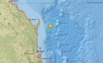 Succession de séismes dans le Queensland australien
