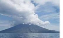 Le volcan de Manam se réveille
