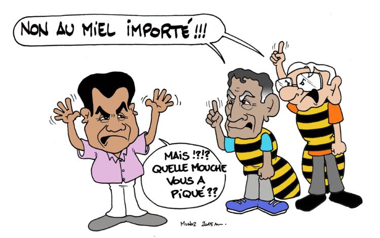 """""""Le miel importé"""" par Munoz"""