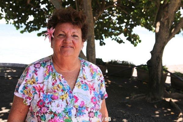 Doris Hart, actuelle présidente de la FTV