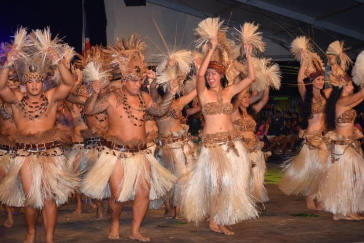 La troupe des Tamarii Mataiea fait la fierté de la commune et de ses habitants