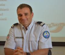 Le capitaine Luc Roattino est le responsable du centre régional de formation de la police (CFR).