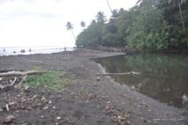 L'embouchure de la Mapuaura à Faaone devrait subir des travaux de curage d'ici quelques mois.