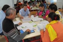 Les équipes pédagogiques se sont concertées en ateliers dans leurs spécialités respectives afin d'élaborer les outils pédagogiques indispensables au déroulement de l'année scolaire.