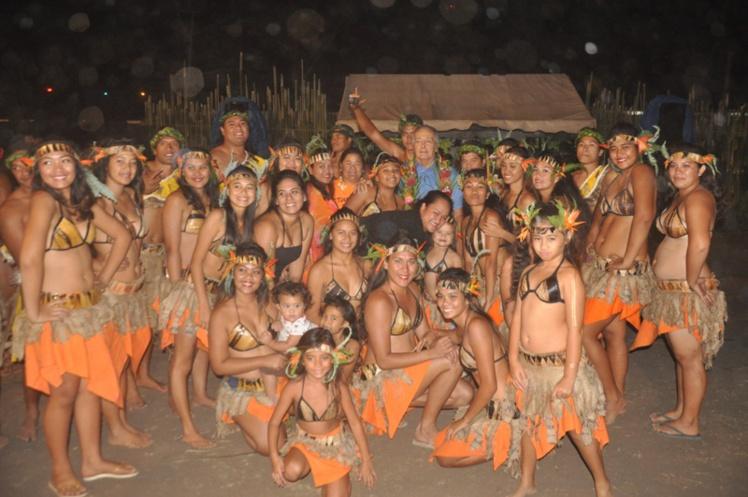 Tahara'a s'est hissé à la première place en catégorie danse traditionnelle