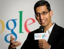 Le patron de Google rejoint le club des brillants ingénieurs indiens