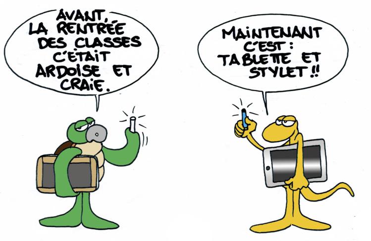 """""""La rentrée des classes"""" par Munoz"""