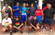 Maco Nena (en tricot rouge) partageait depuis des années sa passion pour la boxe, avec les jeunes..