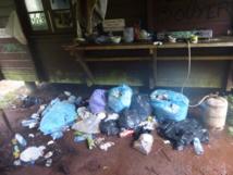 Une photo prise au refuge du Mont Aorai le 13 août dernier ne laisse aucun doute quant au manque de civisme des randonneurs qui ont fréquenté le lieu au cours des derniers mois.