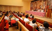 La ministre de l'Education en visite au lycée hôtelier de Tahiti