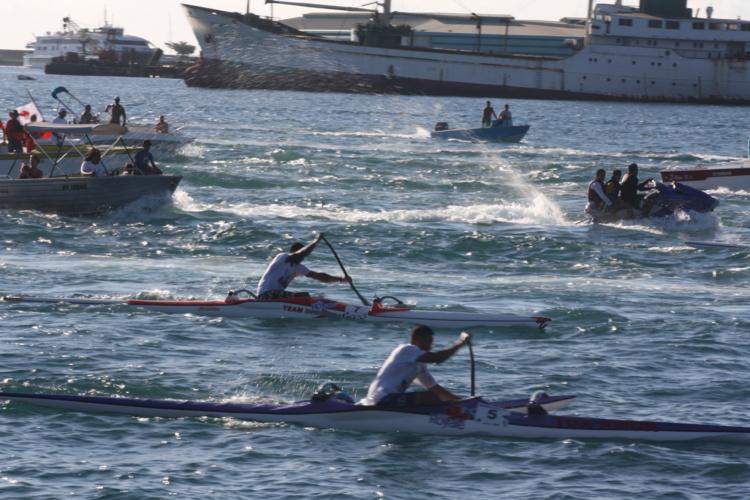 Quelque 138 rameurs prendront la ligne de départ à la plage de Taaone. (Photo : DR)