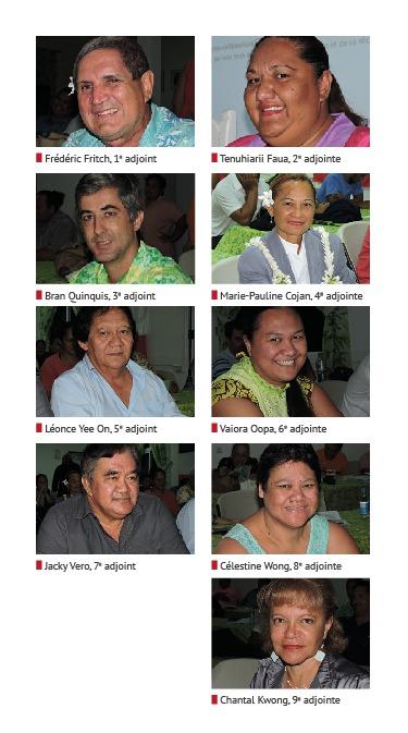 Les délégations de chaque adjoint au maire n'ont pas encore été définies. Ils se retrouveront la semaine prochaine.