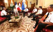 Le Président rencontre les responsables de l'Eglise mormone de Polynésie