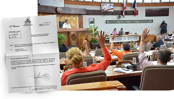 La proposition de Tuihani pour effacer l'ardoise des emplois cabinets