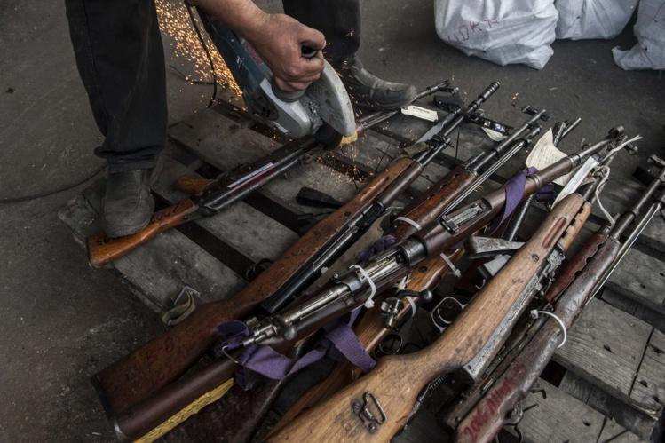 86 armes et 3 800 munitions clandestines ont été mises hors-circuit depuis le mois de mai au fenua. L'arsenal sera détruit ce lundi à l'armurerie de la gendarmerie au camp de Faa'a. (AFP-Illustration)