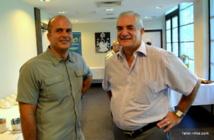 Nicolas Beaufort et Guy Stalens