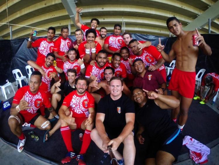 Rugby à XV – Coupe de l'Océanie : La sélection tahitienne 2e du tournoi.