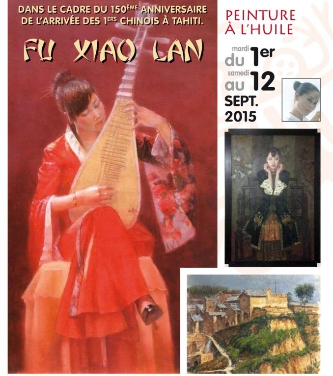 Exposition de Fu Xiaolan : la Chine à l'honneur