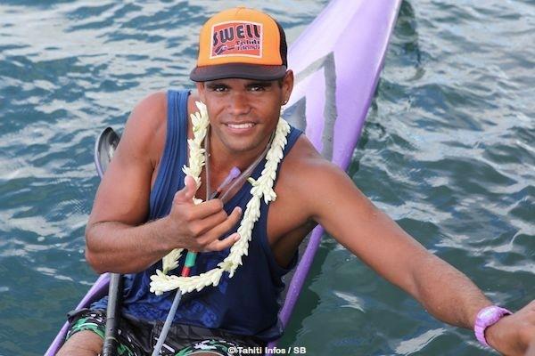 Hiromana Florès reste le leader du kayak polynésien (arch)