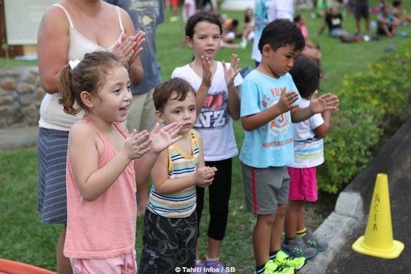 Les sportifs sont un exemple à suivre pour les enfants