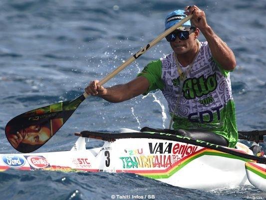 Steeve Teihotaata est arrivé 2e lors du tout dernier Super Aito 2015.