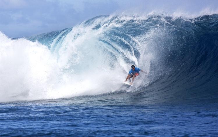 Jérémy Florès a remporté la Billabong Pro Tahiti 2015, une victoire historique ! (Photo : Suliane Favennec)