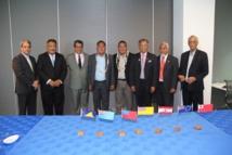 Le Président Fritch à la réunion du Groupe des dirigeants polynésiens à Auckland