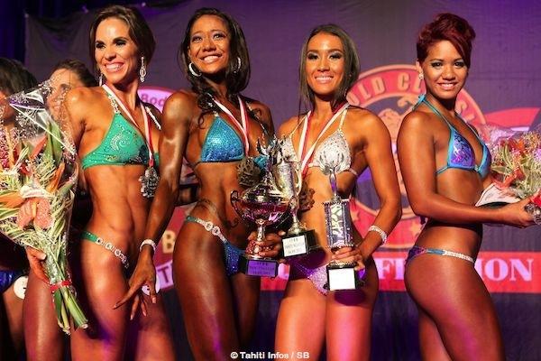 Teura Temarii s'impose dans la catégorie Miss Bikini