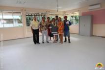 Une nouvelle salle des maîtres a été réalisée durant les vacances de juillet, à l'école Hiti Vai Nui / Vaitama.