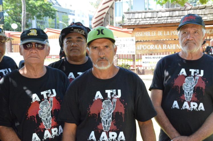 Denis Helme, président du syndicat No Te Aru Tai Mareva