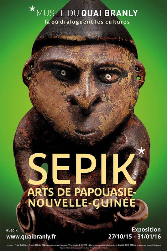 Art papou : le Sépik s'expose au Quai Branly