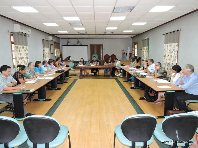Une réunion de préparation s'est tenue ce matin dans la salle du conseil municipal, avec tous les partenaires de l'évènement.