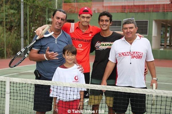 Hiro Kelley a transmis le virus du tennis à ses trois enfants