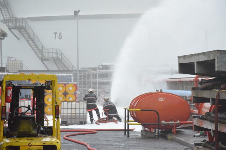 Shell teste ses procédures de sécurité à Motu Uta