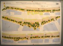 Une projection de l'aménagement de cette promenade piétonne,  sur le front de mer côté montagne, réalisée par l'architecte Alexis Nguyen.