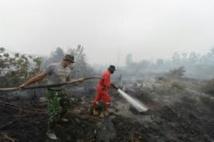 Incendies en Indonésie: sept suspects dont des cadres de sociétés interpellés