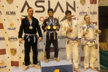 JJB « Asian Open 2015 » : Manatea Couraud s'offre la 3ème place du podium