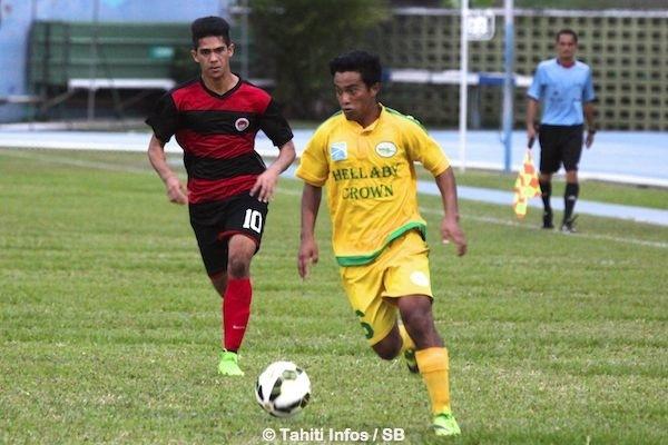 Tefana a écrasé Central 8-0 qui a joué en infériorité numérique