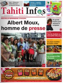 Le 25 juin 2015, devant 300 convives invités pour l'inauguration de la nouvelle rotative, Tahiti Infos voit le jour dans sa nouvelle version.