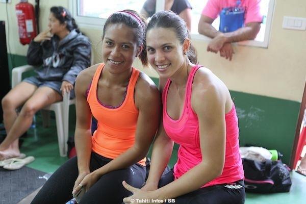 Ma-Terena Vivish 1re en - de 67kg (à droite)