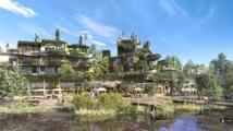 L'imposant projet éco-touristique Villages Nature sort de terre et ouvrira fin 2016