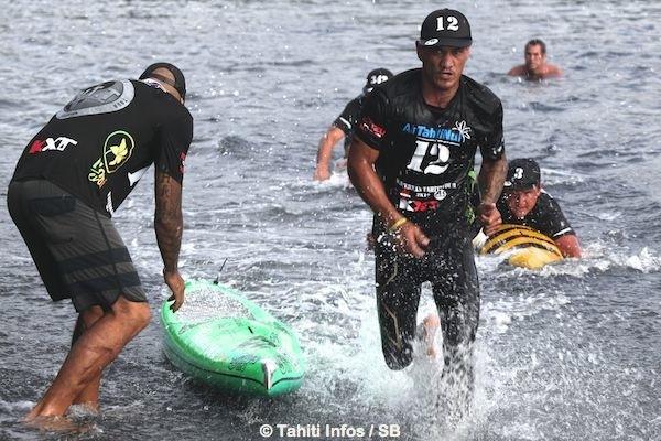 Bruno Tauhiro remporte le Waterman Tahiti Tour pour la 2e année consécutive