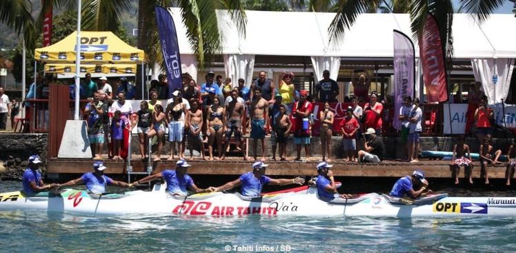 Air Tahiti s'impose après une course extrême