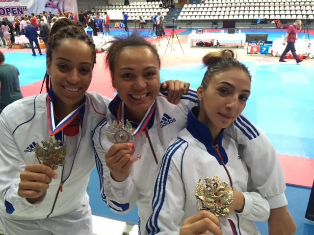 TKD « Open de Russie » : Anne-Caroline Graffe décroche la médaille d'argent